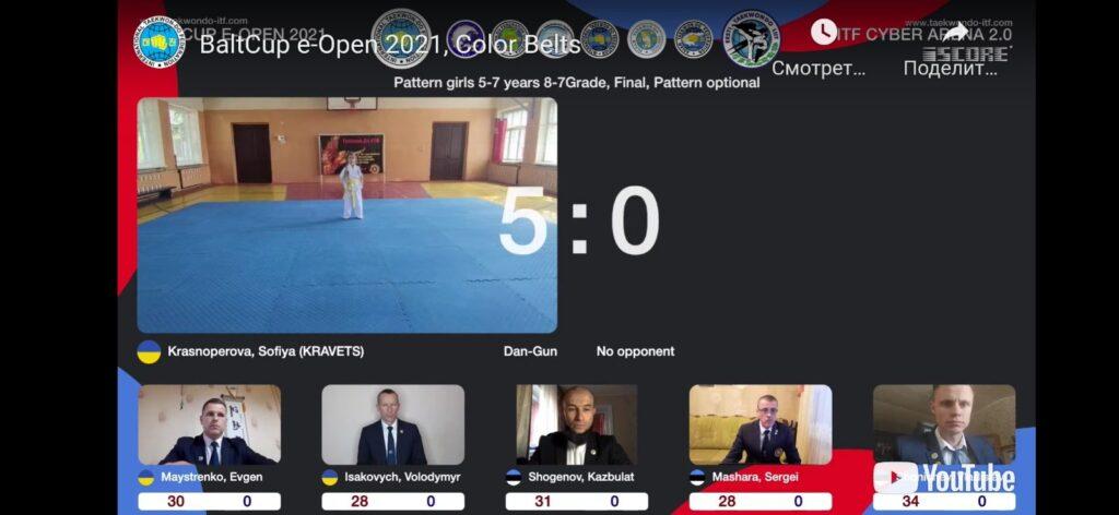 """Відкритий кубок Европи """"BALT CUP 2021 ONLINE"""""""